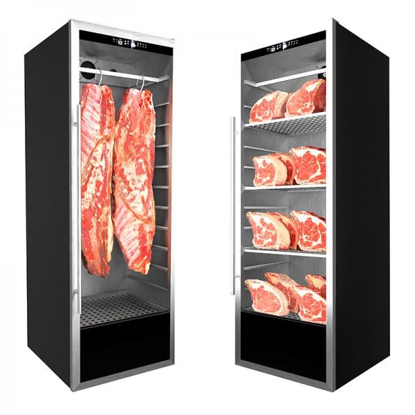 Cámara expositora para maduración de carne